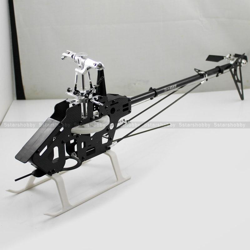 Gartt 450dfc Carbon Frame Torque Tube 6ch 3d Rc Helicopter Kit Fits on