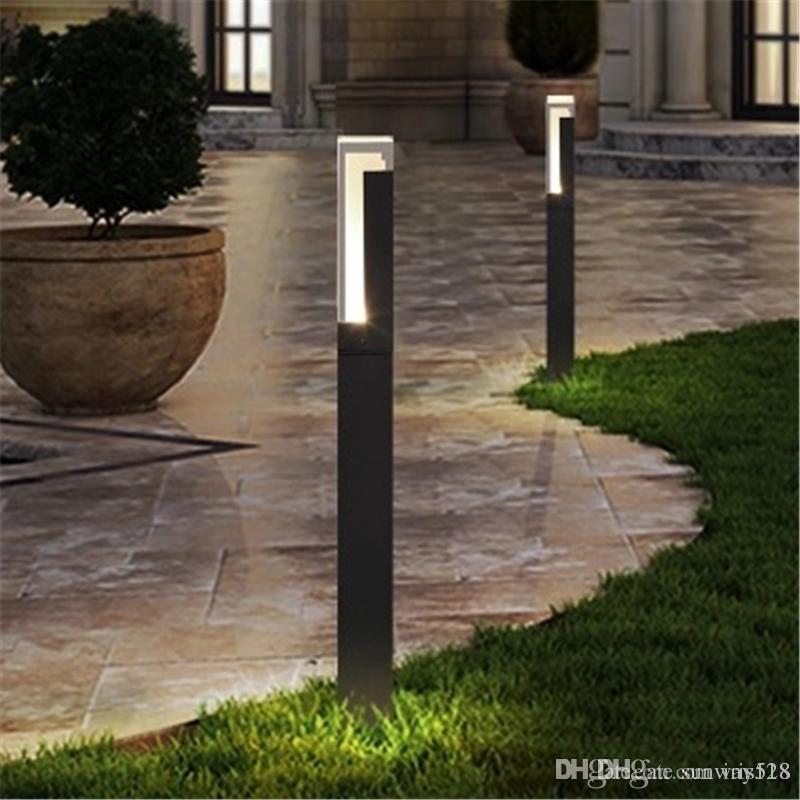 Led Gartenleuchten 5w Rasenlampe Ip65 Led Lampen 220v Aluminium Rasenlampen Aussenleuchten Gartenpollerleuchte Acryl Led