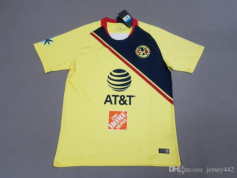 beff01a43 Club America Home Jersey 2018 19 Jeremy Menez 9 Roger Martinez Cecilio  Dominguez Andres Ibarguen Soccer Shirt Carlos Vargas Football Uniform  Canada 2018 ...