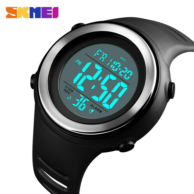 SKMEI Men Sports Watches 2018 Top Brand Luxury LED Digital Watch Men Waterproof Clock Dual Time Countdowns Wrist Watch