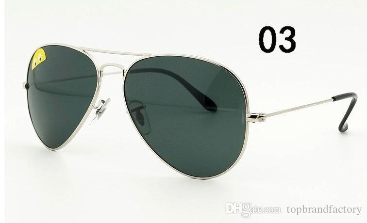 b5df04447 Compre Lente De Vidro Real G15 Óculos De Sol Das Mulheres Dos Homens De  Alta Qualidade Óculos De Sol De Condução Anti Reflexo Espelho Óculos UV400  De ...