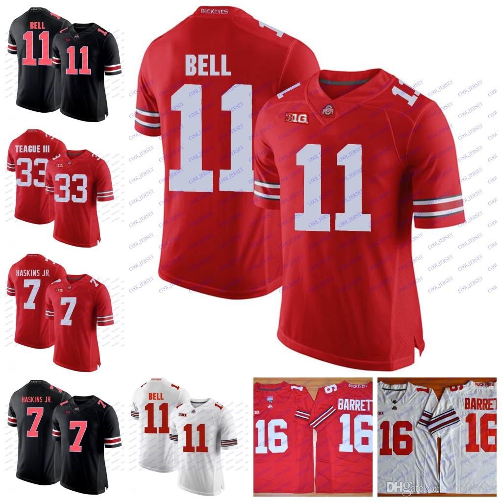 outlet store b8ec8 5df9e Custom NCAA Ohio State Buckeyes College Football 34 Hyde 32 Jack Tatum 11  Vonn Bell 47 AJ Hawk 33 James Laurinaitis 85 Mike Nugent Jerseys