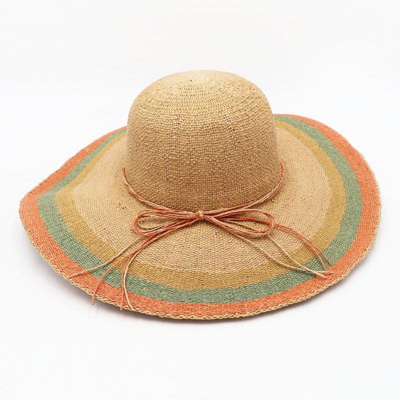 e0bc63457e5c9 2018 New Product Big Brim Sun Hats Straw Hats For Women Summer Hat Panama Ladies  Beach Sun Hat Hats Bucket Hats From Yuijin