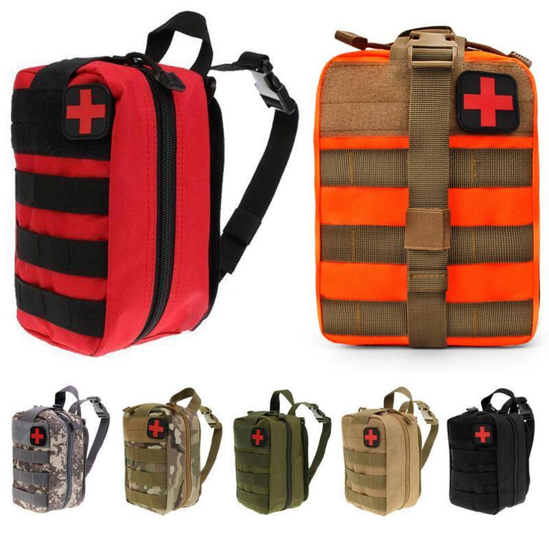 Outdoor Tactical Medical Bag Travel First Aid Kit Multifunctional
