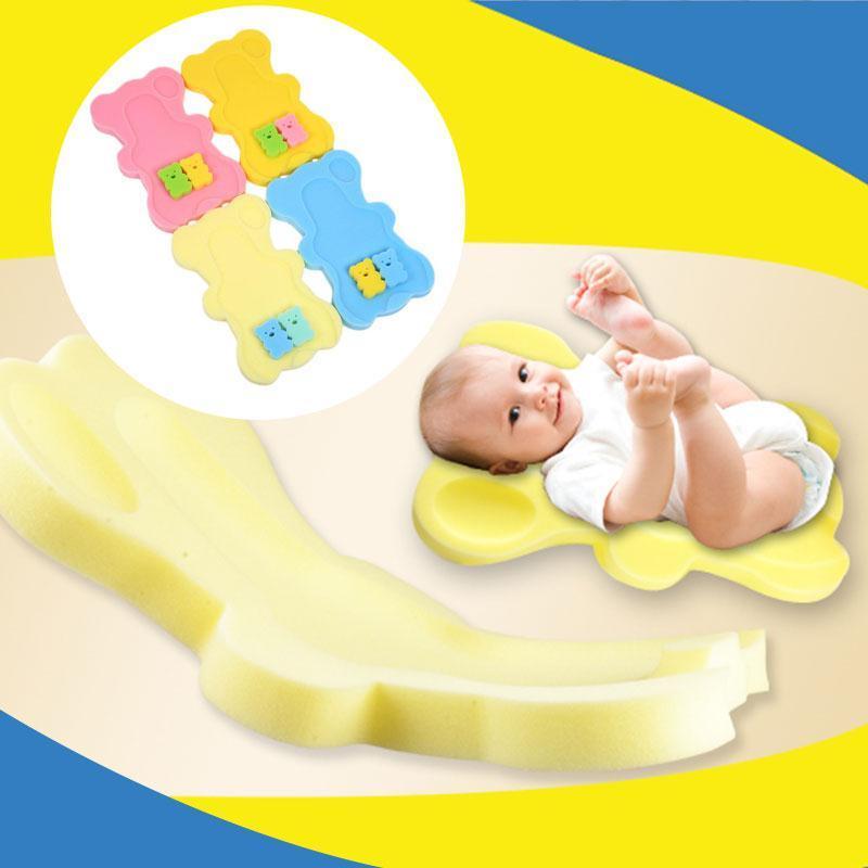 2018 Baby Toddler Soft Bath Sponge Foam Anti Slip Mat Support Safety ...