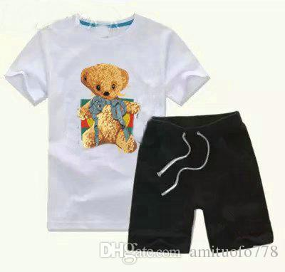 091fd50d4 HOT 2-6years Old Boy Kids Sets Kids T-shirt And Pant Children Cotton ...