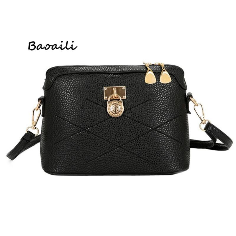 d07b889600c1 Baoaili New Trend Hot Selling Fashion Lady Solid PU Zipper Shoulder Bags  Elegant Casual Women Messenger Bags 45P Purses For Women Bags For Sale From  ...