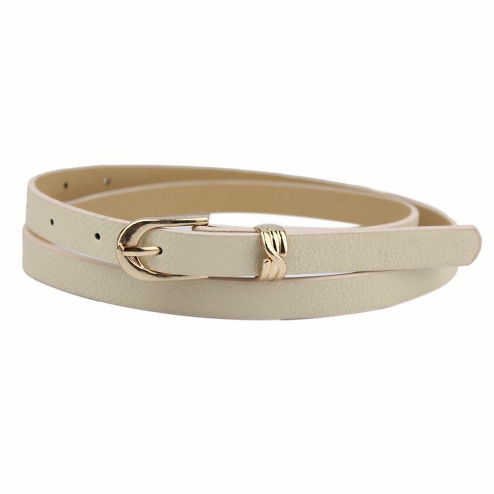 woman's belt Elegant Fashion Women Candy Color Leather Waistband Dress Accessories belts for ceinture femme feminine F80