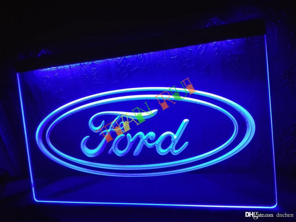Good Lg007 B Ford Neon Sign Home Decor Shop Crafts Led Sign Color Changing Led  Light Strips Strip Led Lighting From Dnchen, $8.85| Dhgate.Com