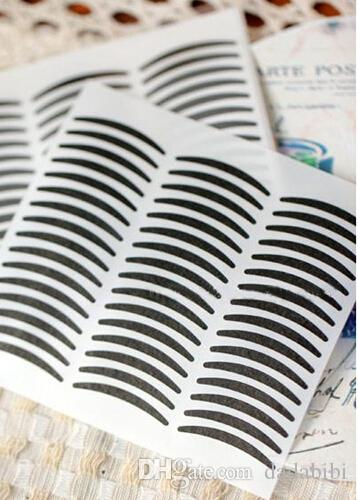 NEW ARRIVAL Black Stripe Make Up Eyeliner Sticker Double Eyelid Transfer Tape Eye Shadow Smoky Tattoo Free Shipping 720pair/lot