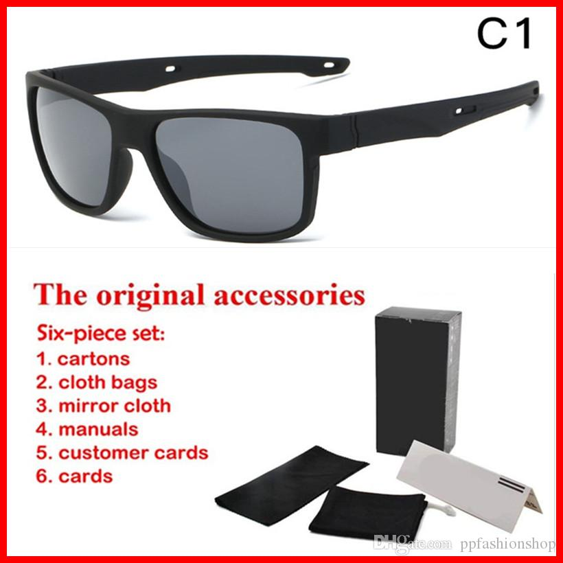 6a2c293b97c Brand Men S Sunglasses UV Glasses New Sports Sunglasses Outdoor Cycling  Glasses Optional Original Box Wiley X Sunglasses Mirror Sunglasses From ...