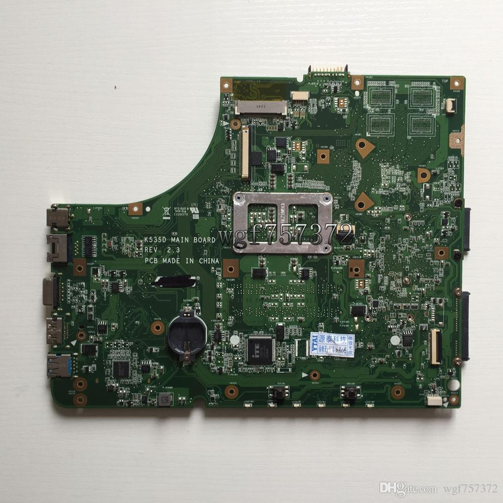 For Asus K53SD K53E REV 2.3 Laptop Intel Motherboard 60-N3CMB1500-C09 notebook Systemboard HM65 s989 USB 3.0
