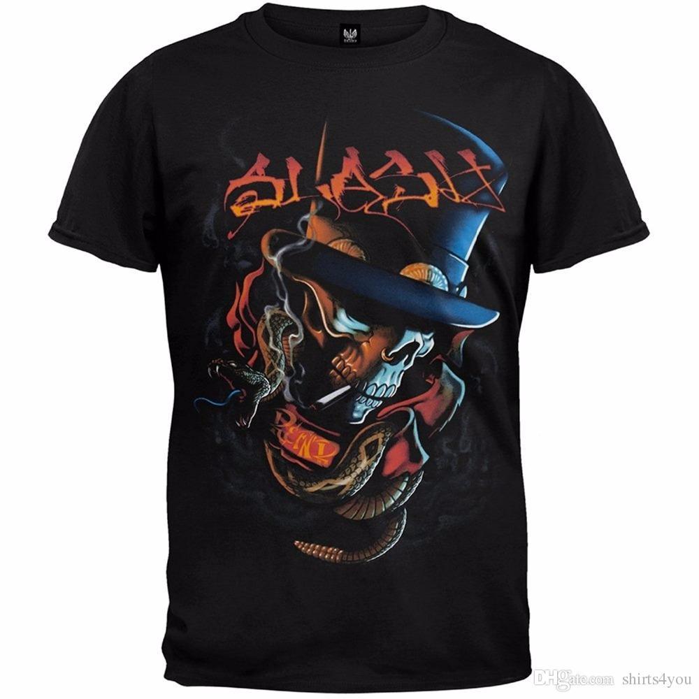 565695f76c4 Cheap T Shirts Online Crew Neck Short Sleeve Printing Machine Mens Slash  Orange Letters Top Hat Crossbones T Shirt T Shirts Funky T Shirts Online  Shirts ...