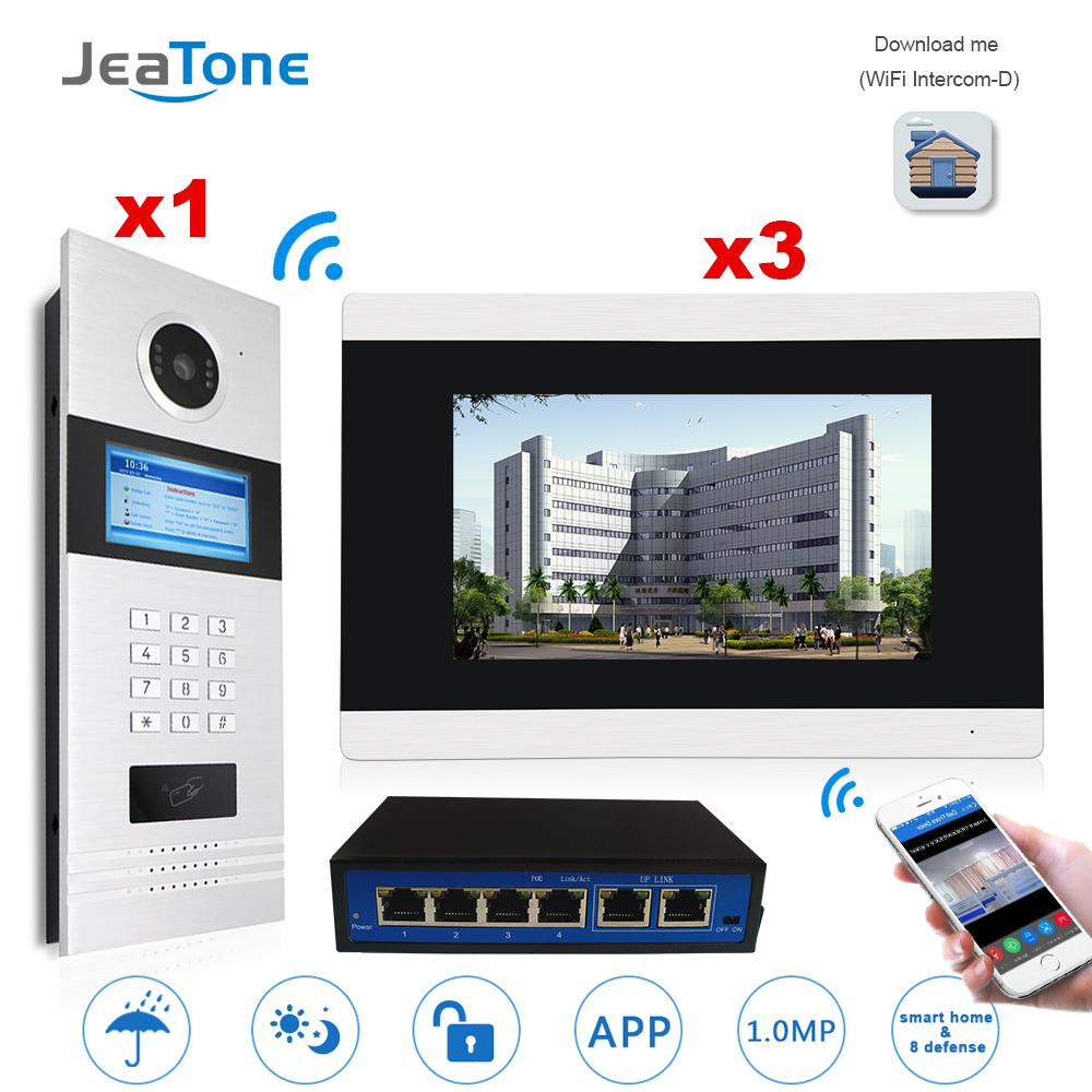 großhandel 7 '' touch screen wifi video türsprech ip video