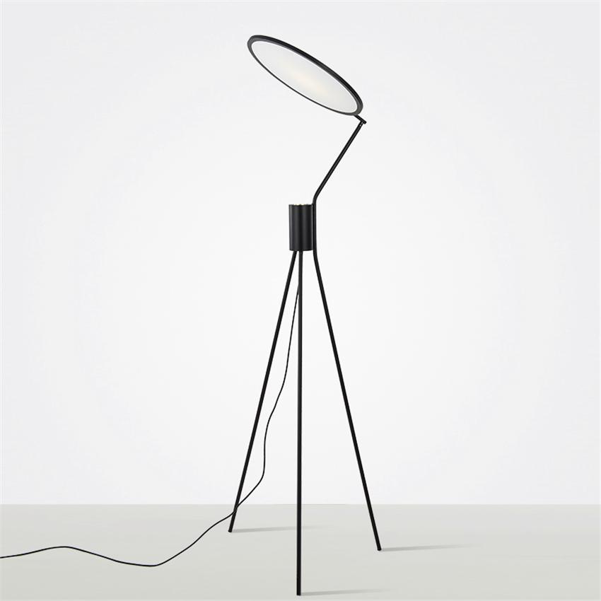 Acquista Lampade Da Terra Moderne Loft Led Lampade Da Terra A Led