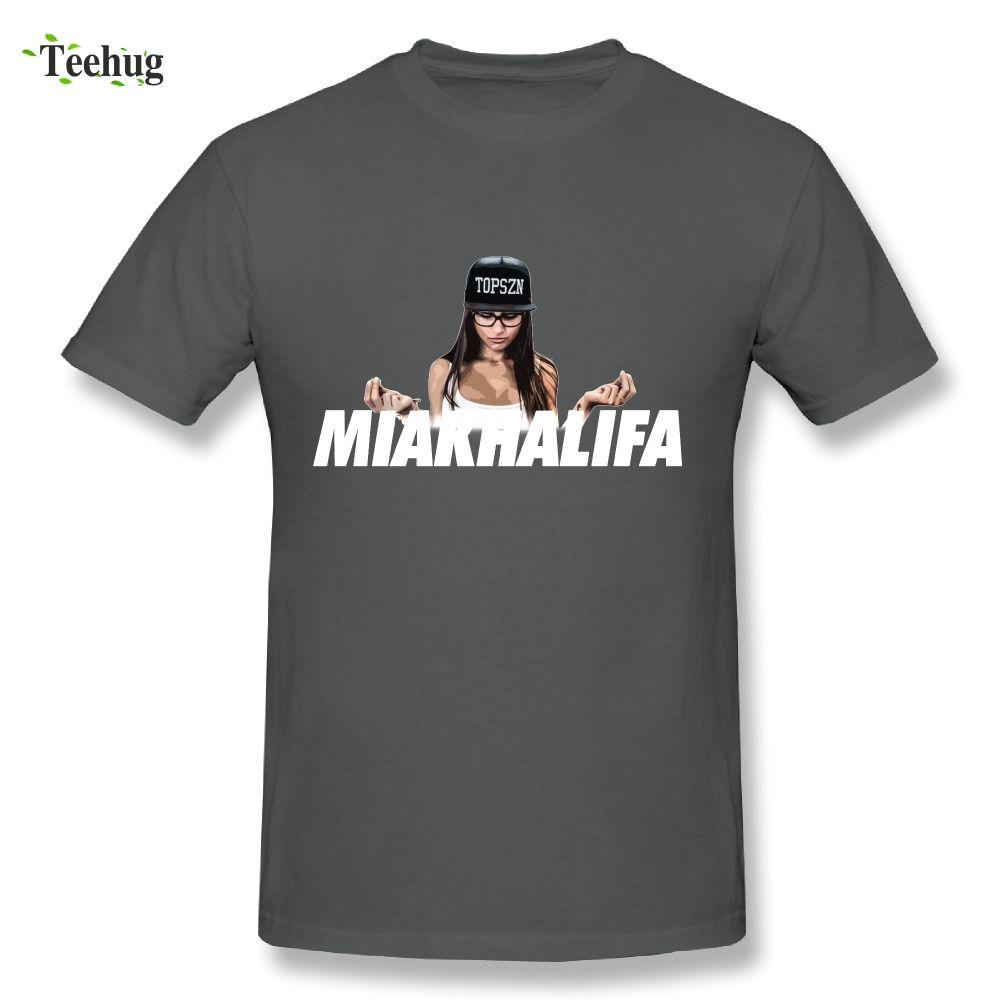 Fashion Porn Khalifamia Khalifa T Shirt Man Summer Leisure Big Size  Brazzers T Shirt Cool Homme Tee Shirts Funny Print Shirts White T Shirt  Designs From ... 8713515040d2