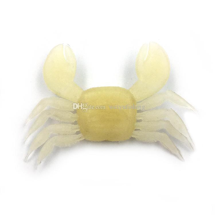 6*9cm Crab Shape Soft Fishing Lure Artificial Bait FishingTackle for Bass Trout Salmon Snakehead Freshwater Saltwater Fishing