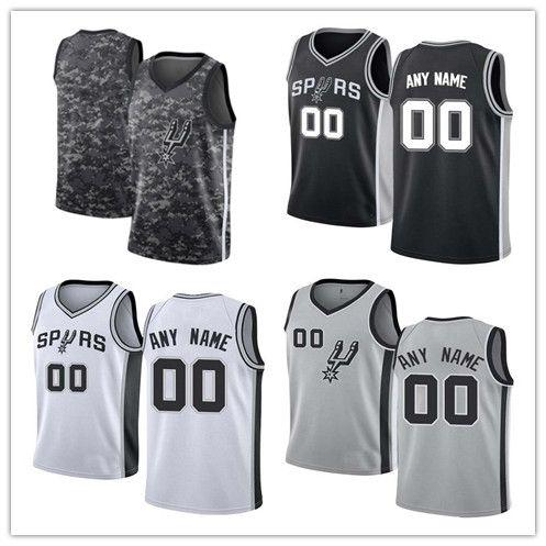 2018 Custom Tim Duncan City Basketball Jersey Men Youth Women 100