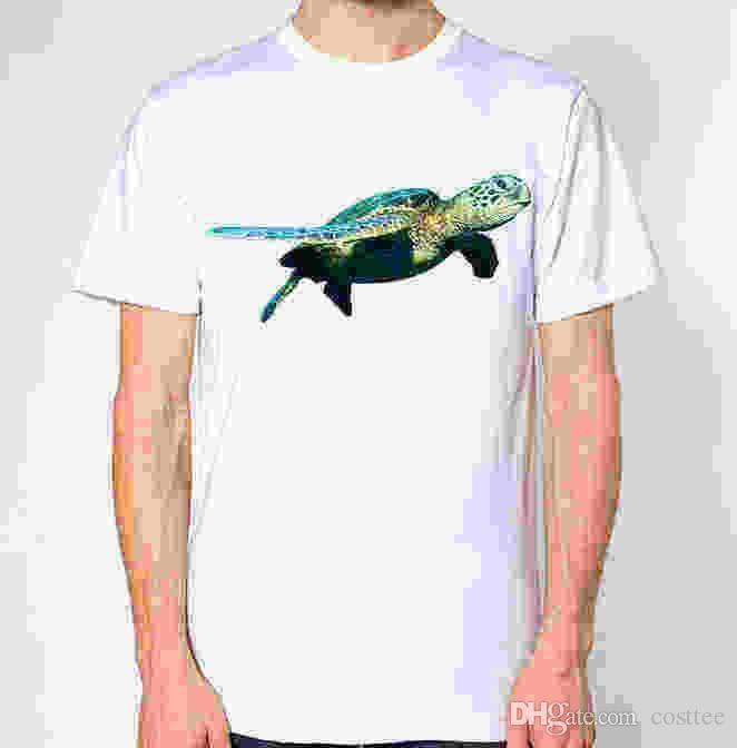 6357fdb09 Compre Camiseta Tortuga Marina A $14.67 Del Lefan06 | DHgate.Com