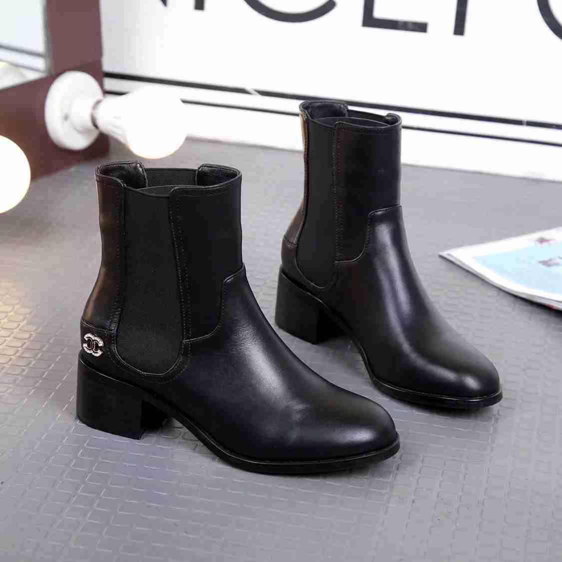 G 2018 Herbst Bursting Damen Modische Kurze Stiefel Gummiband Schuhe Aus Echtem Leder Mode Runde Kappe Frauen Casual