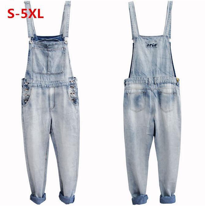 ac837edc776b 2019 2015 New Men S Denim Overalls Trousers Suspenders Extra Large Biggest  Size S 5XL Men Denim Rompers Jumpsuits Pants Jeans From Pingpo