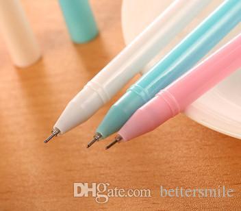 Toptan jel kalem ücretsiz shippingKorean kırtasiye sevimli karikatür süper tavşan nötr penSiyah 0.38mm 211