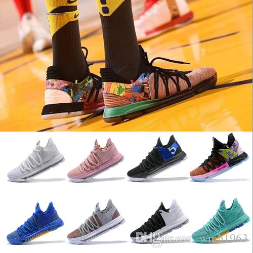 229a6e8d906c 2019 New Kevin Durant 10 Basketball Shoes Men Kd 10 Gold Championship MVP  Finals Sports Shoes Training Sneakers Running Shoes Size 40 46 Shoes Kids  Mens ...