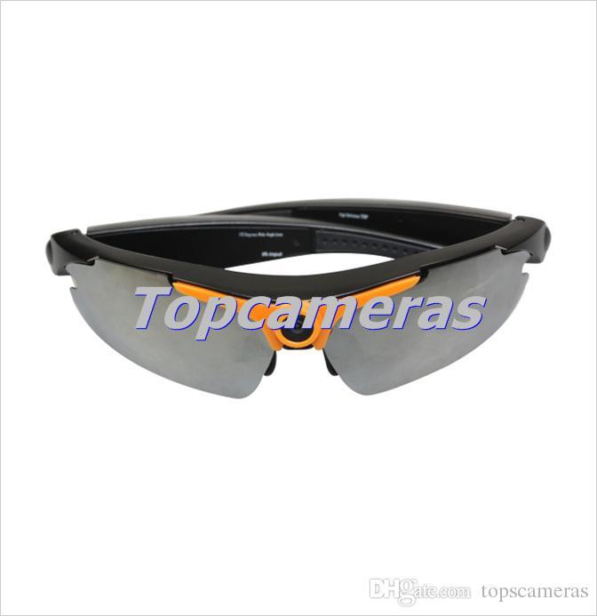 الحرة الشحن زوايا واسعة 170 درجة كاميرا نظارات شمسية 1080P 5MP الأزياء DV مصغرة النظارات الشمسية السوداء