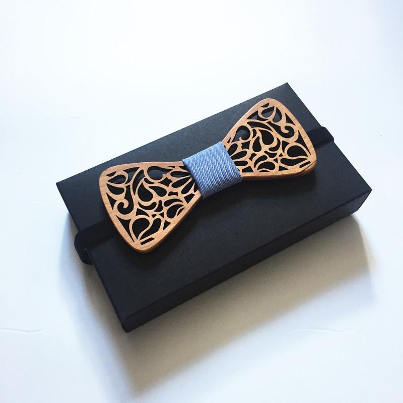 Dot Mahoosive Brand Handmade Wood Bow ties Butterfly Gravata Ties For Men Mens Wooden bow tie neck bow ties mens