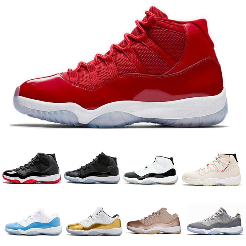 52aeced3b731e3 Platinum Tint XI 11s Concord 45 Prom Night Basketball Shoes 11 Gym ...