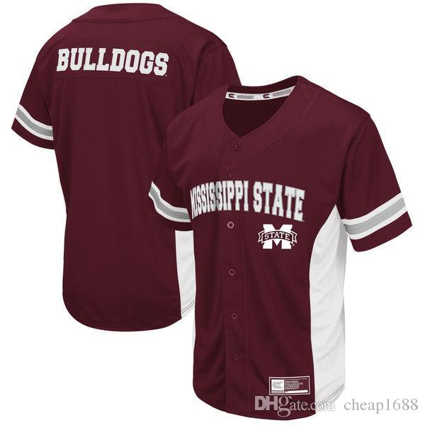 2019 Custom Mississippi State Bulldogs NCAA College Baseball Jersey Men  Women Youth Colosseum Maroon Customize Any Name Any Number Jerseys From  Cheap1688 0bfcc0d43