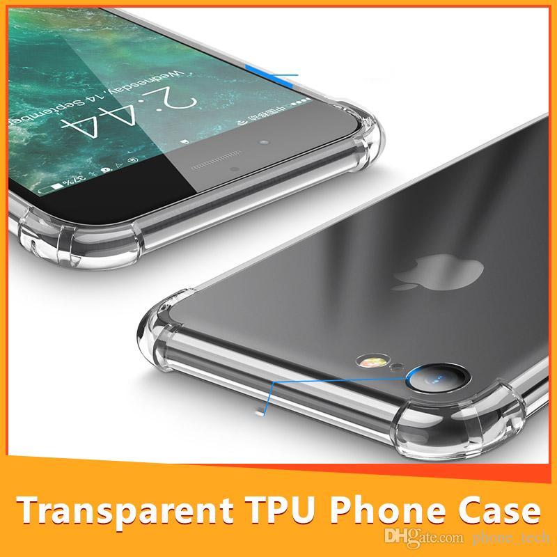 1b424163011 Accesorios De Celular Funda Para IPhone X 6 7 8 Plus Funda De IPhone Para  IPhone XS Max XR Funda Transparente De Silicona Transparente A Prueba De  Golpes ...