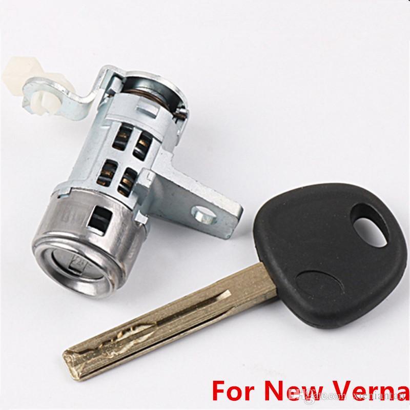 OEM Left Door Lock Cylinder Auto Door Lock Cylinder For Hyundai New Verna D23