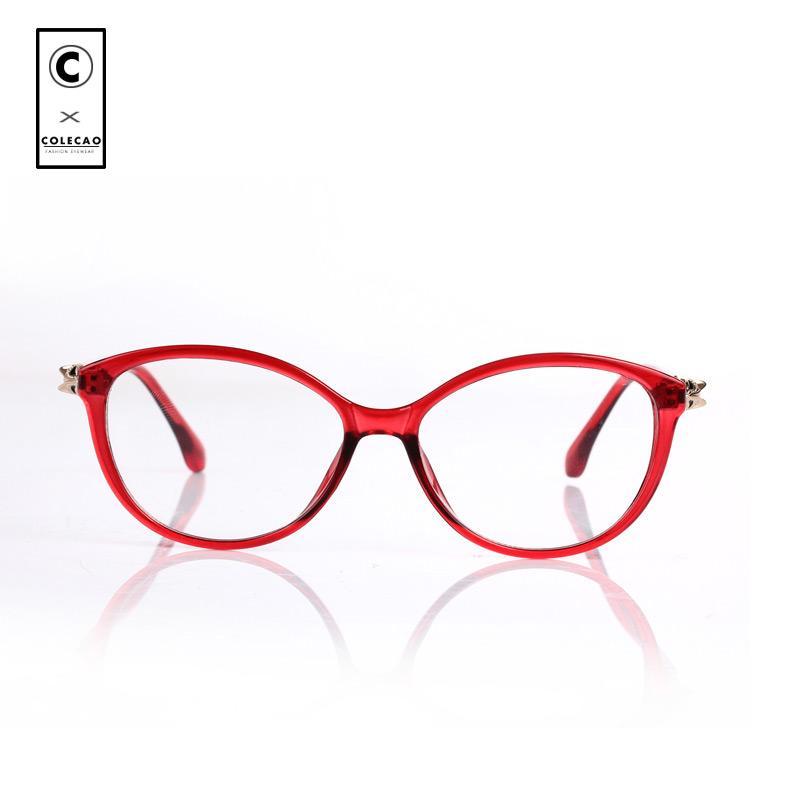 Compre COLECAO Fox Design Espetáculo 2018 Moda Mulheres Óculos Miopia Nerd  Óculos De Armação Óculos De Lente Clara Do Vintage Quadro Ótico De  Naughtie, ... 8008d6227e