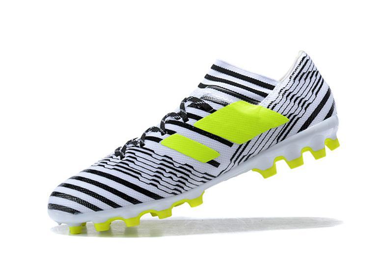 5d337c30aa89 2019 New ACE Nemeziz 17+ Purecontrol Men Shoes ACC Nemeziz MESSI 17.3 FG  Shoes High Tops Soccer Boots Laceless Soccer Cleats Football Boots From  Xiaonanzi