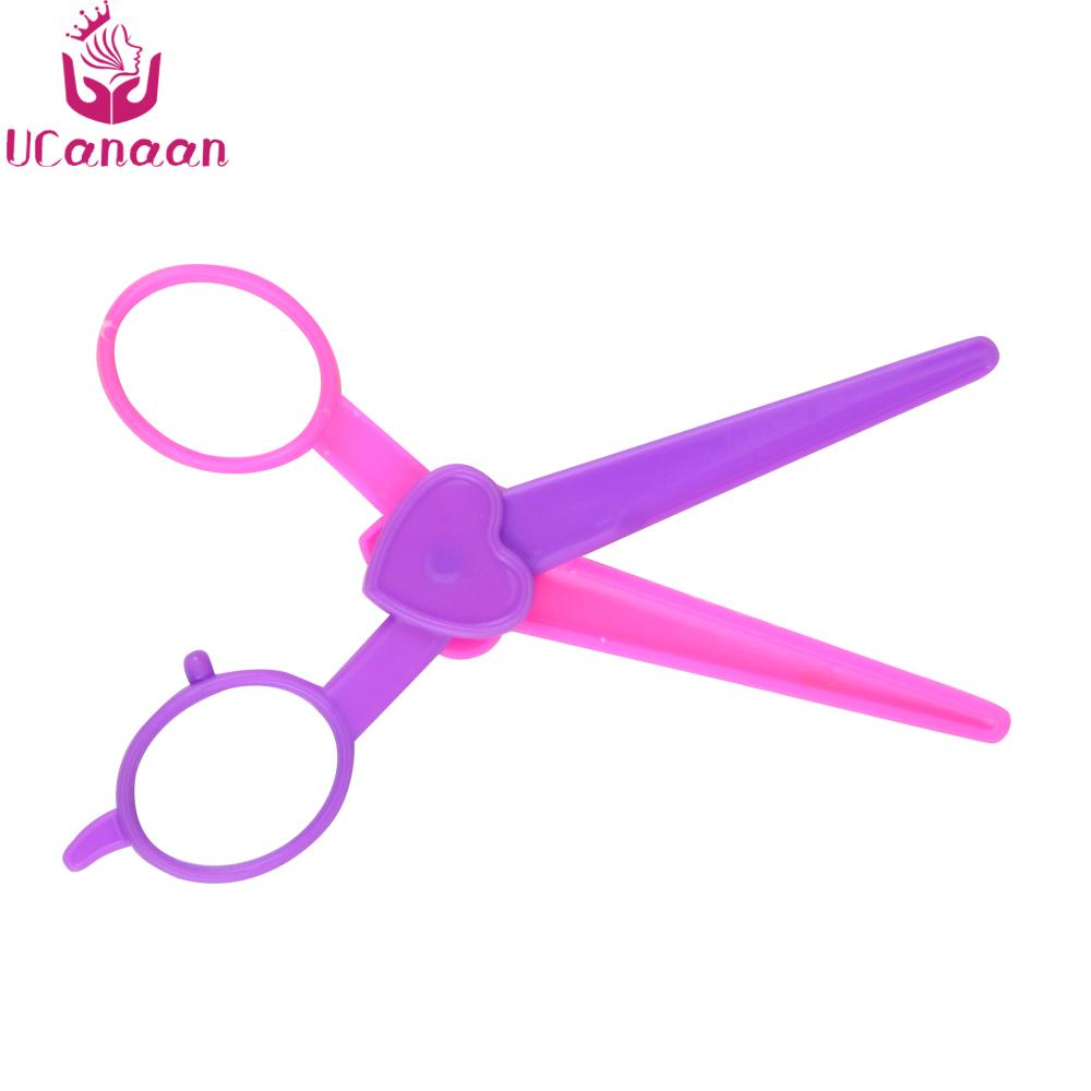 UCanaan Hairdressing Suit for Doll Plastic AccessoriesKids Toys Doll Accessories Fashion for Children Family Game