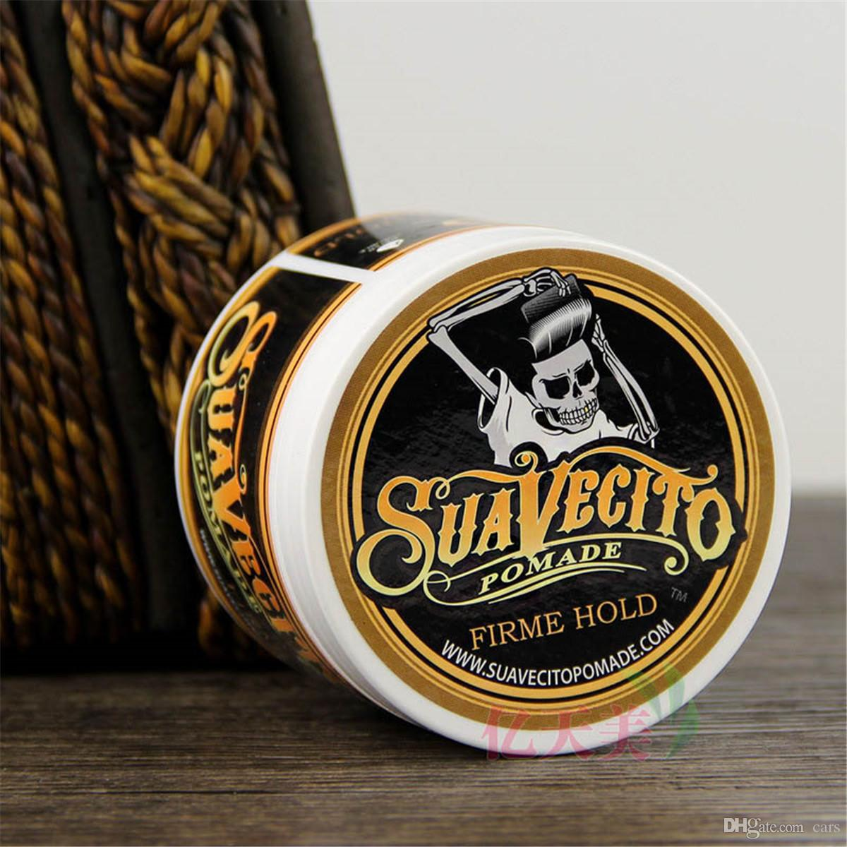 Suavecito Pomade Strong style restoring Pomade Hair wax big skeleton slicked back hair oil wax mud keep hair pomade men DHL