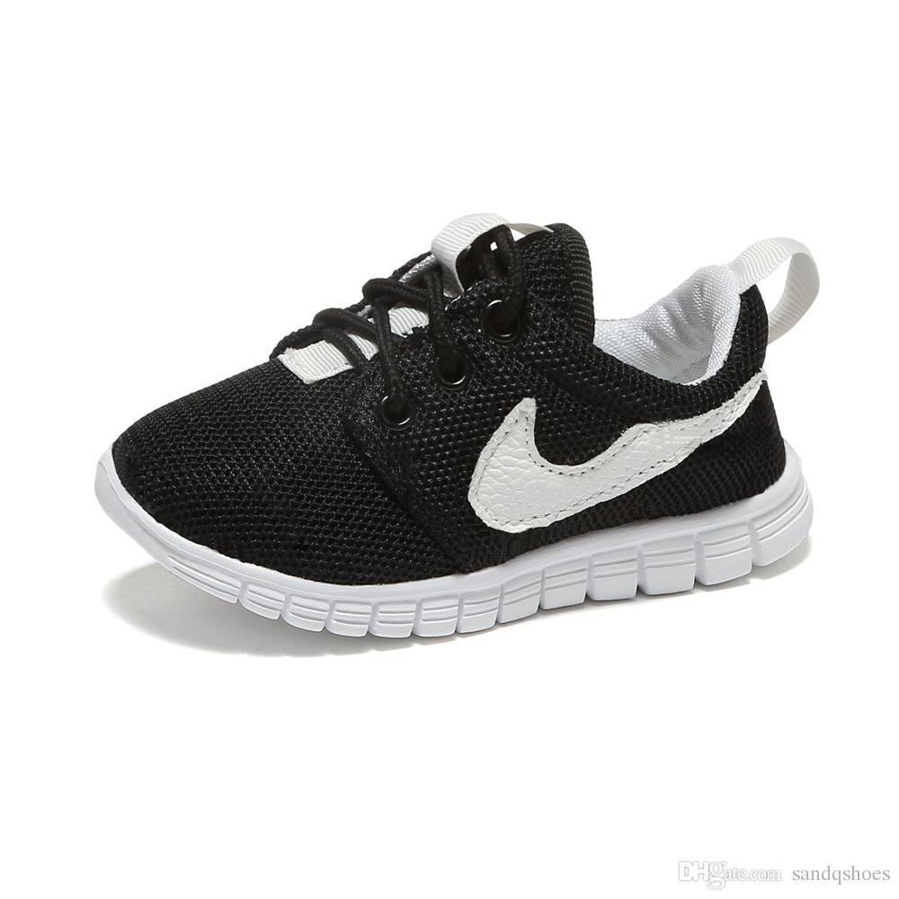 961222c83ba21 Compre Niños Zapatos Deportivos Zapatos Para Niñas Zapatos De Malla Con  Cordones Negro Rosa Muy Ligero Suela De Espuma Bueno Para El Uso Diario  Zapatos ...