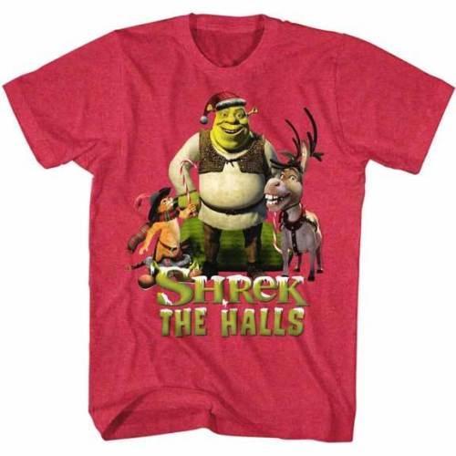 ffbe2bb9bc64f Acheter Shrek The Halls T Shirt Enfant Noël Enfants MovieMens 2018 Marque T  Shirt O Cou 100% Coton T Shirt Tops Tee De  11.01 Du Teesworkshop