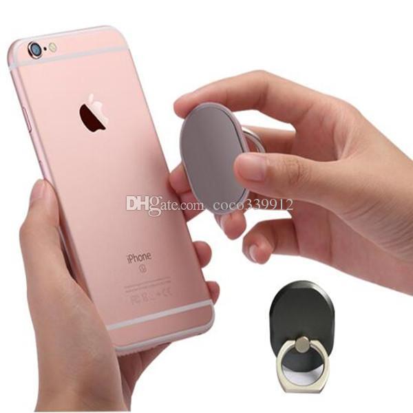 Anneau en métal titulaire de téléphone avec support unique style de support de téléphone portable de style pour iPhone 7 Plus universel tous les téléphones portables