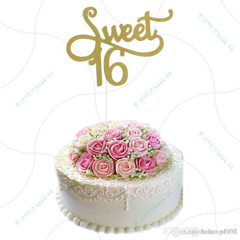 Sweet Baking Plugged Happy Birthday Cupcake Toppers Dessert Decoration Personalized High Quality Acrylic Food Picks Eco Friendly 1 5ym Jj Themed Decorations