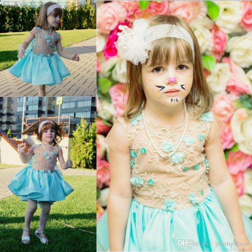 cb56e8c99ff Cheap Hi Lo White Flower Girl Dresses Discount Ivory Flower Girl Dresses  Tulle Skirt