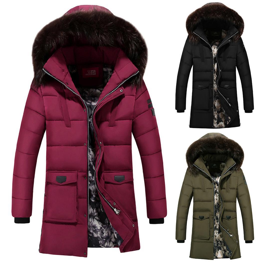 Großhandel 2018 Herren Mantel Dicke Warme Winter Outwear