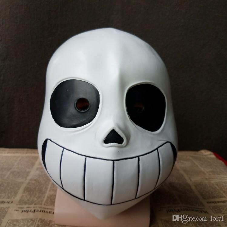 Acquista Halloween Undertale Skull Latex Mask Gioco Tema Costume Accessori  Uomini Funny Party Stage Cosplay Scherzi Copricapo A  28.43 Dal Loral  91a426630c5a