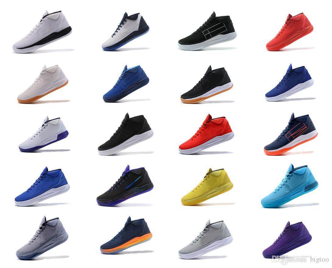 promo code 43c0c 90bae Großhandel Kobe Ad Ep Aufstieg Männer Basketball Schuhe Leichtathletik  Turnschuhe Sport Outdoor Stiefel Größe 7 12 Hohe Qualität Von Bigtoo,   85.77 Auf De.