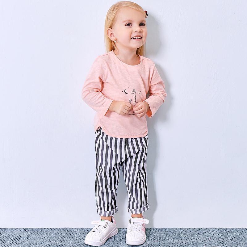 72443ecc9d5e 2019 Roupas Infantis Menina Yingzifang Spring Autumn Baby Toddler Girls  Clothing Set Cute Cartoon Tee + Pants Outfits From Sophine14, $26.21 |  DHgate.Com