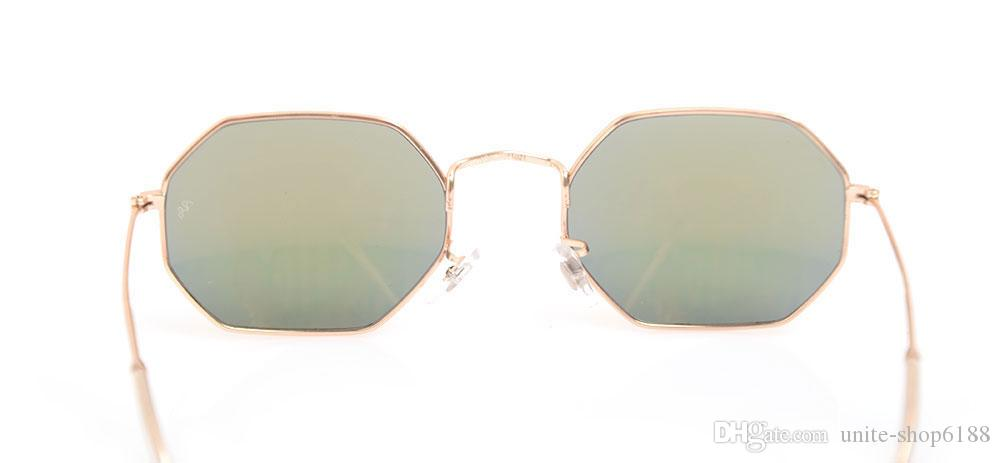 New UV400 protection sunglasses Unisex glasses 3549 Mens glasses Classic Womans sunglasses Octagonal glasses Brand sunglasses Come with boxs