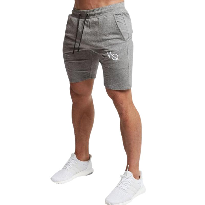 1e7291d3e0fab Herren Enge Taschen String Shorts Grau Schwarz Khaki Farbe Weiche Bequeme  Fitness Kurze Hose Hohe Elastische Jogginghose JRDK017
