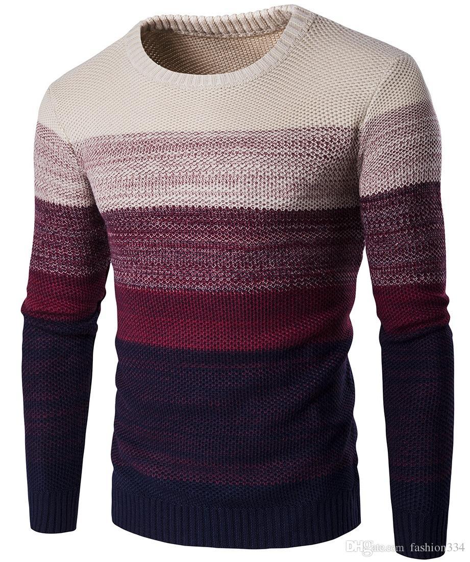 2019 Men S Round Neck Sweater 96dcd61f976