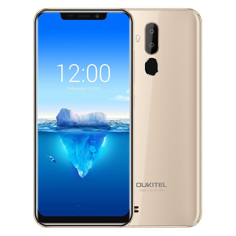 Oukitel C12 Pro Face ID 6 18Inch 19:9 U-notch Display Android 8 1 2GB RAM  16GB ROM MT6739 4G Smartphone